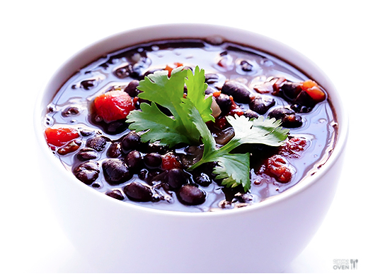 5-Ingredient Black Bean Soup